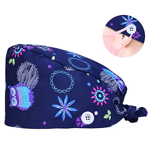Adjustable Cap Sweatband Bouffant Hat Men Gorros Quirofano Mujer Nurse Uniform