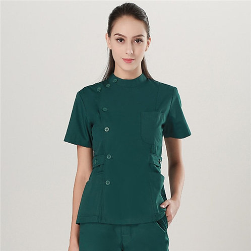 Hospital Uniforms Workwear Top and Pants Cheap Suits Women Scrubs