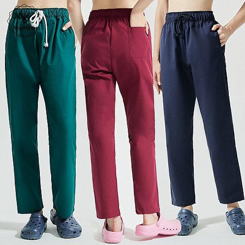 Cotton More Pockets Scrub Pants SPA Scrub Pants Lab Pants