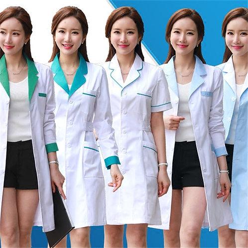Lab Uniform for Women Uniforms Work Wear Pharmacy White Coat