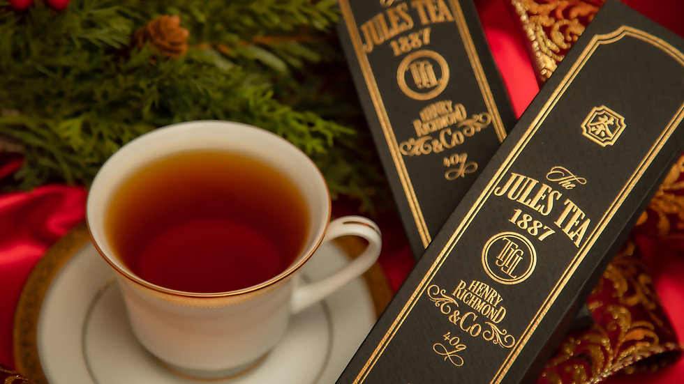 Christmas Ornament tea