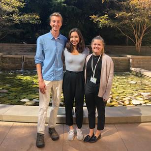 Hugh, Savanna, and Anna at the PHA Annual Summit