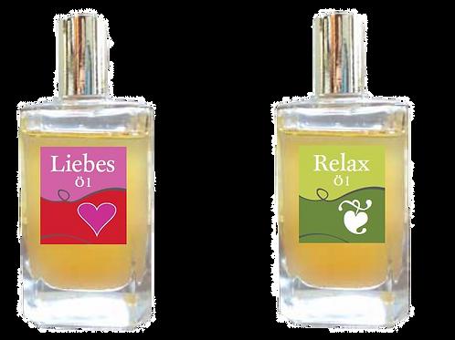 Relax Öle - schöne Stunden für Sie und Ihren Partner