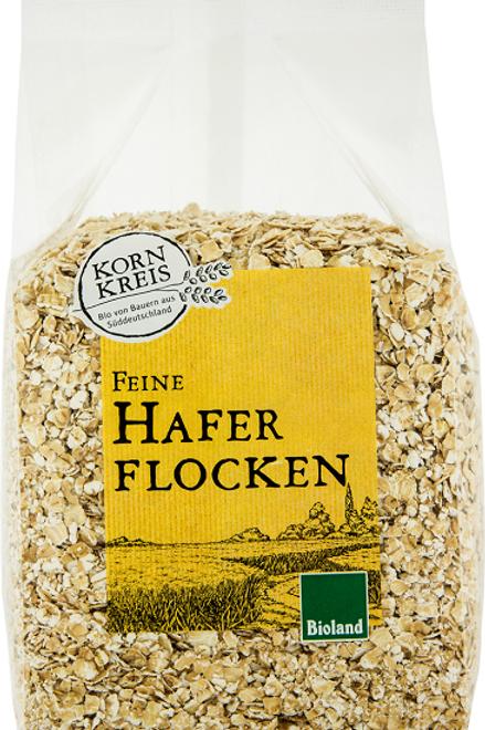 Bioland - Haferflocken Kleinblatt - 500 g.