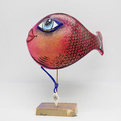 Fischstatue in Handarbeit