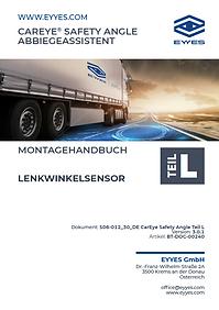 EYYES Handbuch Lenkwinkelsensor