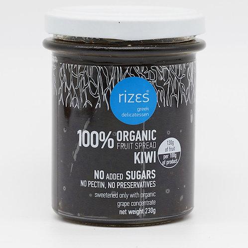 biologische Kiwimarmelade 76% Frucht 230g