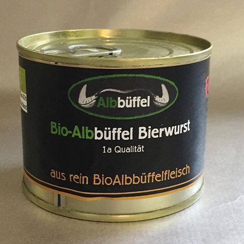 Failenschmid Bio-Albbüffel Bierwurst 200 g. Dose