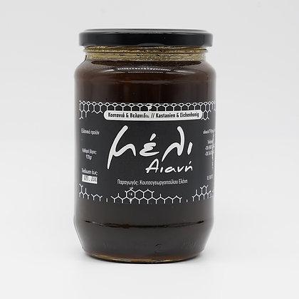 Kastanien und Eichenhonig 920g / aus Kozani