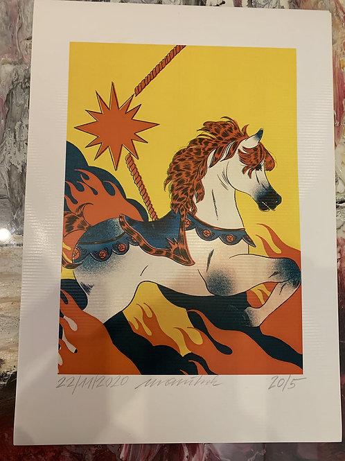 Fire horse - Wolfgang Uranitsch