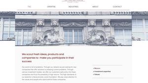 Webdesign - Tomas Schwarz Capital