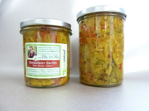 Donautaler Garten Salat - würzig pikant