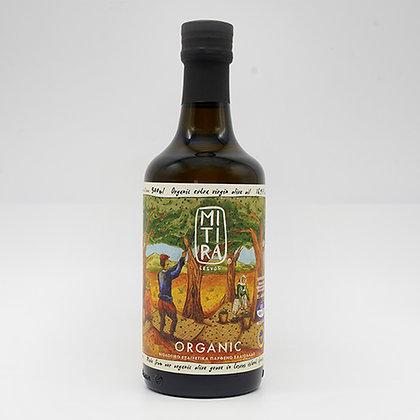 Bio Olivenöl Mitiras  500ml (Glasflasche)