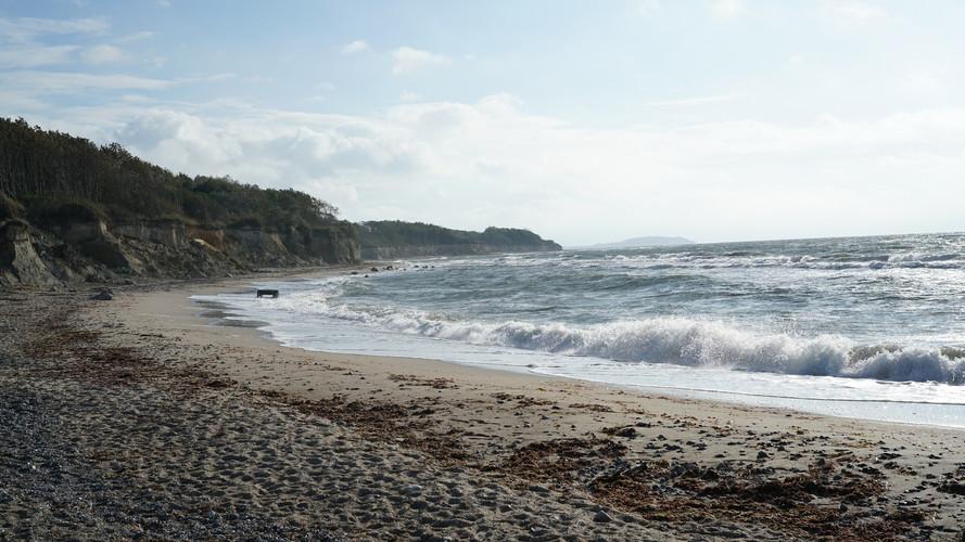 Strand fußläufig von den Wohnungen aus