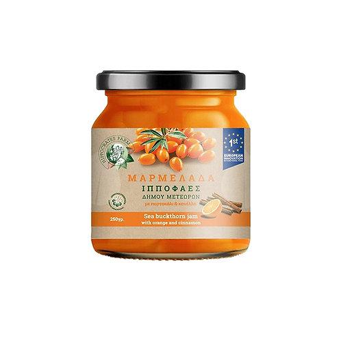 biologische Sandorn- Marmelade 250g