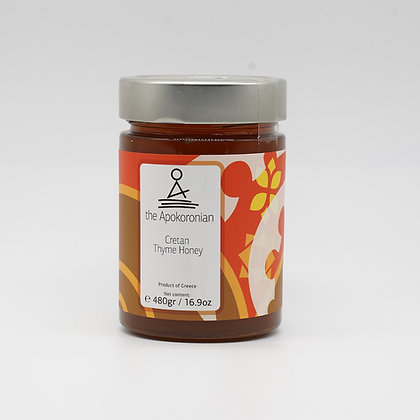 kretanischer Honig mit Thymian, Johannesbrotbaumblüten 480g