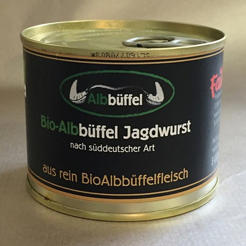Failenschmid Bio-Albbüffel Jagdwurst 200 g. Dose