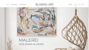 Künstlerin Anna Klasing