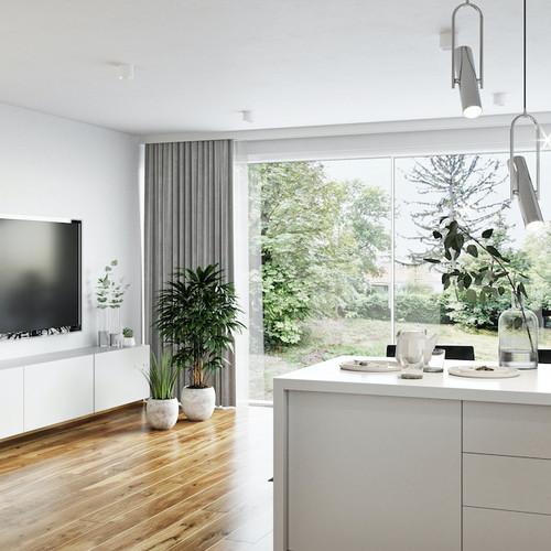 Visualisierung Wohnküche