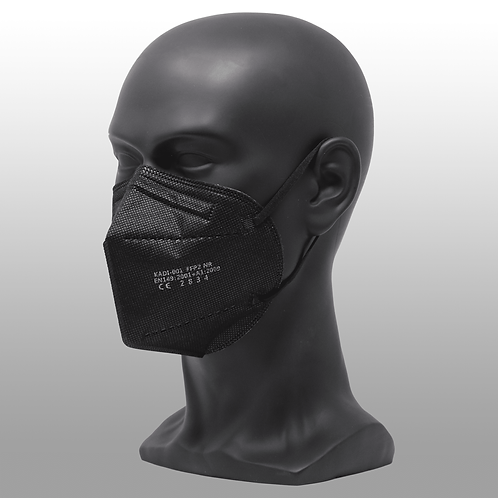 10 Stk. FFP2 Maske schwarz