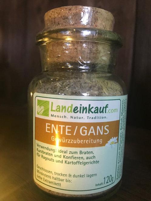 Landeinkauf Ente/Gans - Gewürzzubereitung