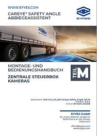 EYYES Handbuch zentrale Steuerbox Kamera