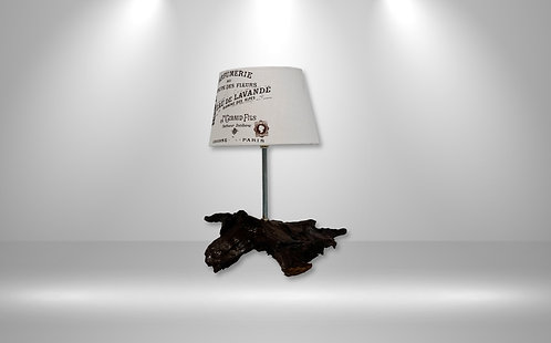 Treibholz-Tischlampe Marlon