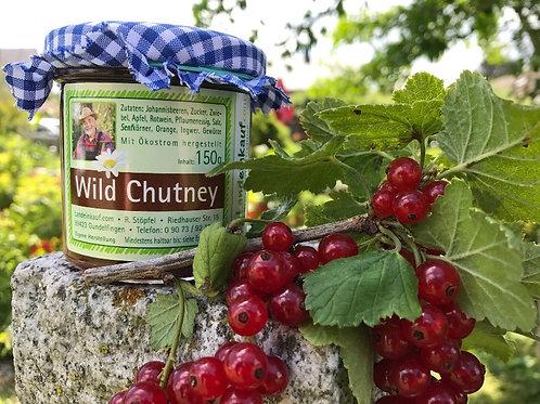 Hausgemachtes Wild Chutney aus Johannisbeeren - 150 g