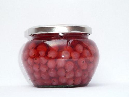 Schwäbische Rote Johannisbeeren - eingemacht 400 g.