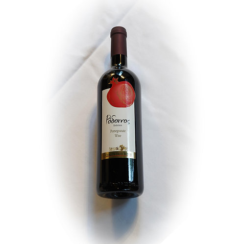 3 Flaschen Rodinos - Granatapfelwein
