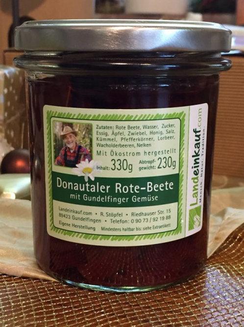 Donautaler Rote Beete-Salat - eingemachtes Gemüse