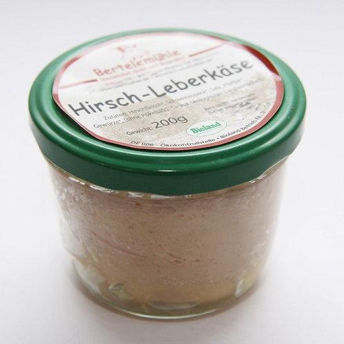Bio Hirschleberkäse im Glas - 200 g - feinste Wildleberkäse Spezialität