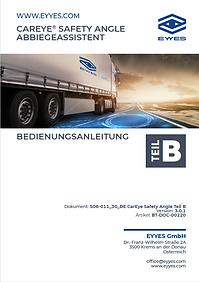 EYYES Handbuch Abbiegeassistent
