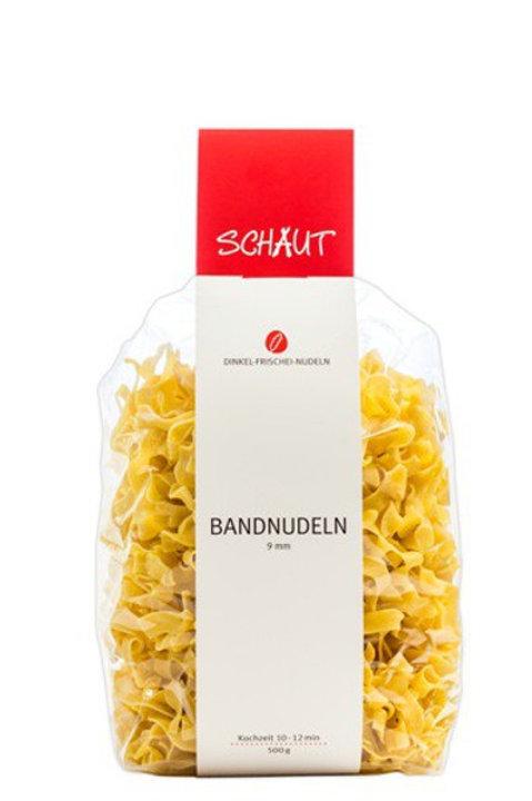 Schaut - Dinkel Bandnudeln - 500 g. Frischei