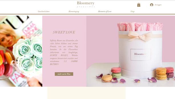 Rosenboxen mit Online Shop