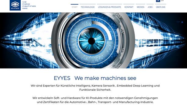 Webdesign - EYYES