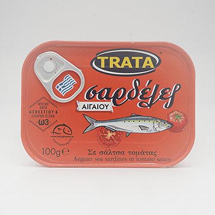 Sardellen in Tomatensauce /100g/Trata