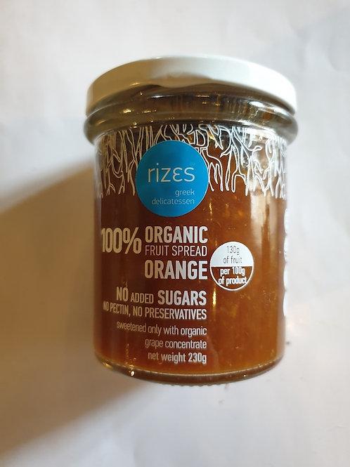 biologische Orangenmarmelade 230g 75% Fruchtanteil