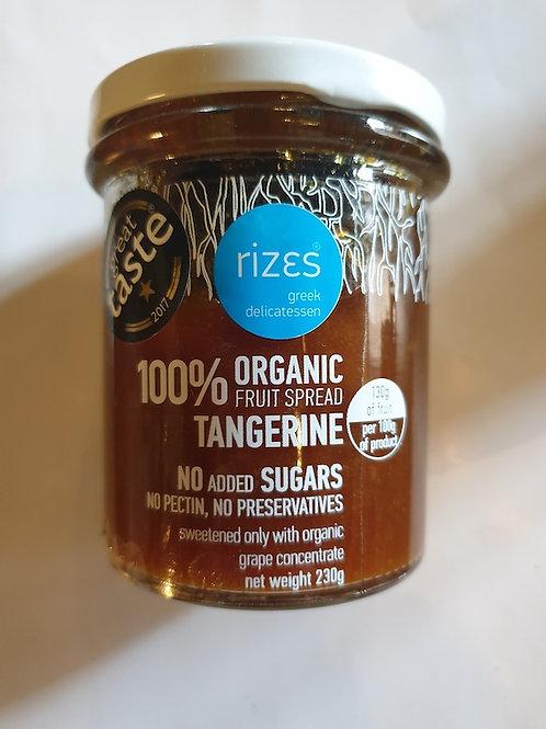 biologische Mandarinenmarmelade 230g 75 % Fruchtanteil
