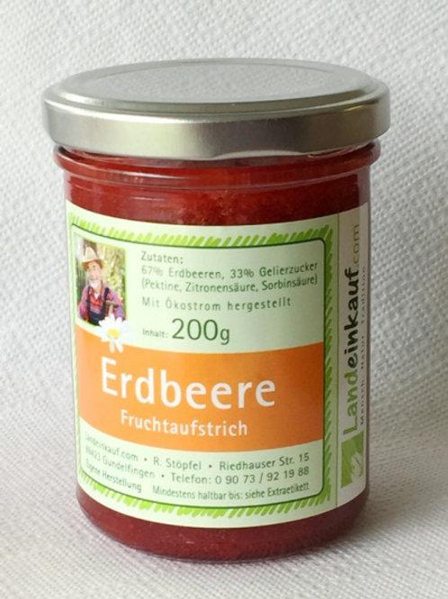 Landeinkauf Erdbeere Fruchtaufstrich - 200 g