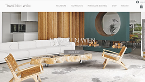Webdesign - Online Shop - Travertin Wien