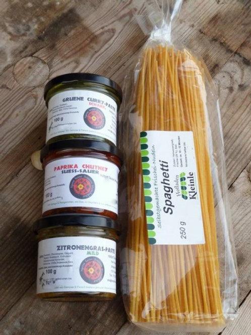 Probierset: Pasten mit Spaghetti