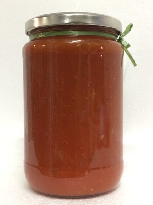 Landeinkauf BELLA Schwäbisch - Tomaten-Gemüsesauce SCHARF 400 g