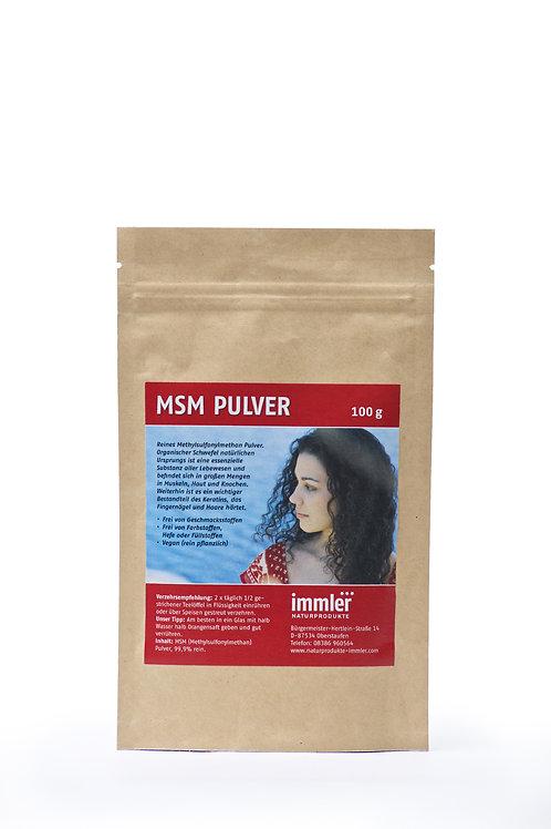 Immlers MSM Pulver