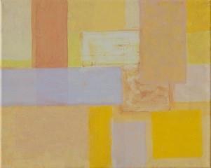 Komposition mit leuchtendem Gelb - Eveline Aberer-Grass