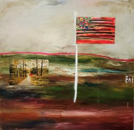 Flagge mit Helgaoma - Michael Maier