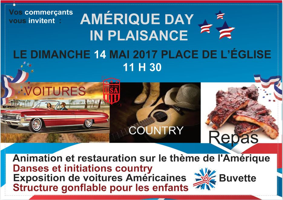 Amérique day in Plaisance