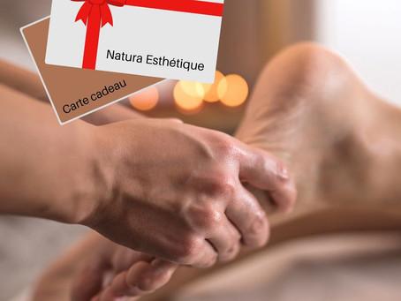 Pensez à nos cartes, bons et chèques-cadeaux 💝Réflexologie plantaire, massage 30 min