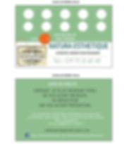 Programme de fidélité de l'institut de Beauté Natura Esthétique dans le Gers à Plaisance, Remises, Cadeaux. Venez découvrir votre magasin de produits cosmétiques Bio et naturels ! Pauline vous accueil du lundi au samed.