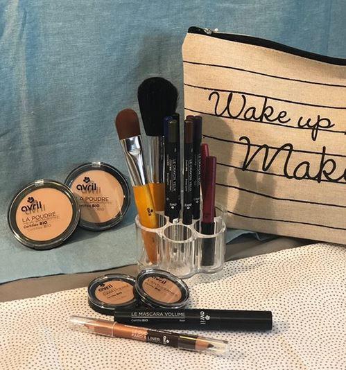 maquillage Avril chez Natura Esthétique